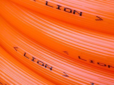 Lines in orange Stock Photo - 395111