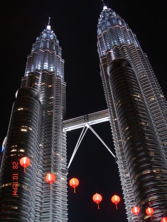 KLCC night light Editorial