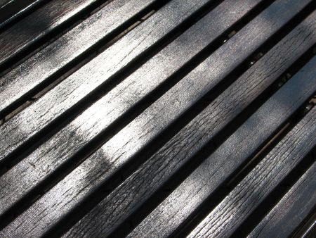 Lines of wood planks