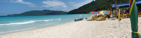 Seascape of the beach of Perhentian Island