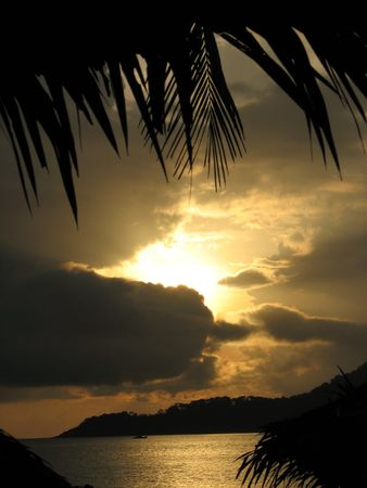 Sunrise of the Perhentian Island