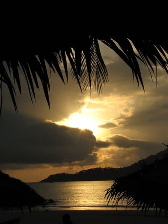 Sunrise of the Perhentian Island
