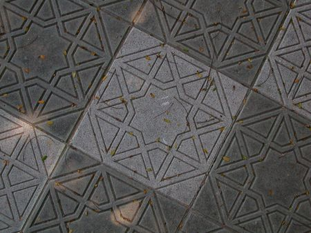 Shapes on the floor