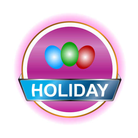 Holiday web icon on a white background Stock Vector - 12682232