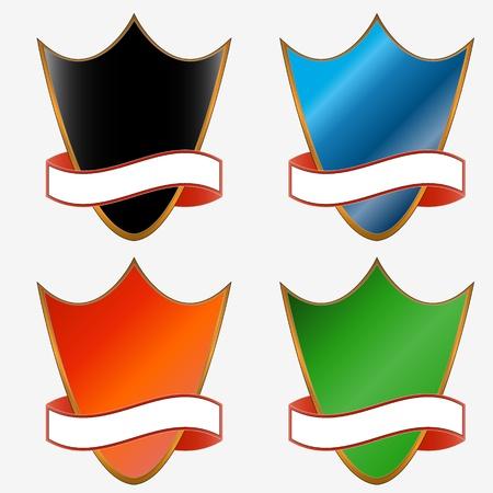 bordering: Cuatro consejos para la imagen y el texto Vectores