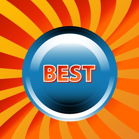 Best icon located on a white background Vector