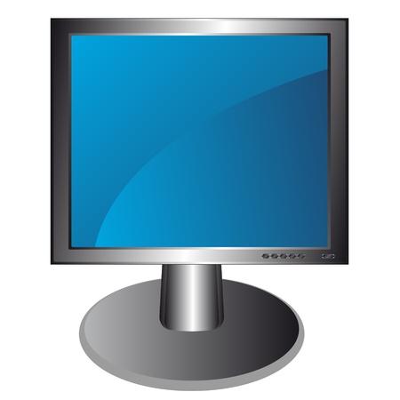 Unique multi-colored LCD  Stock Vector - 13605270