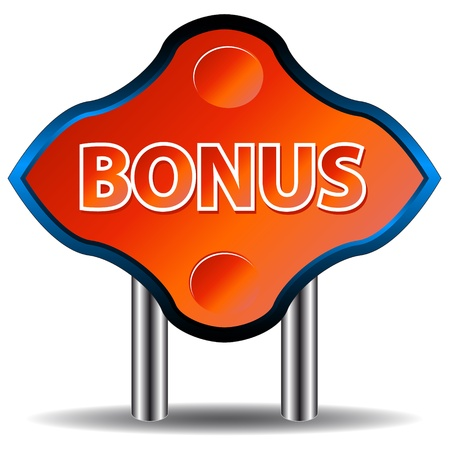 Unique a bonus an icon on a white background Vector