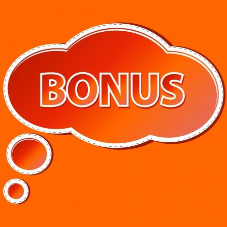flysheet: Unique symbol a bonus in the form of a sticker Illustration