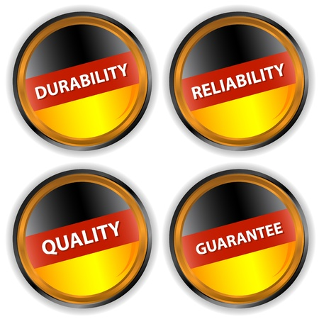 durability: Four German labels with quality, reliability, durability, a guarantee