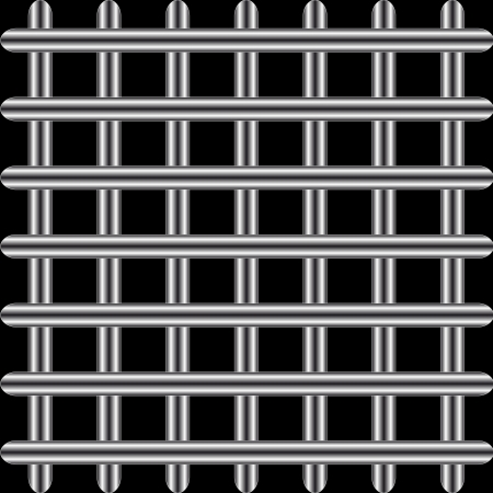 meshy: Structure from a lattice on a black background