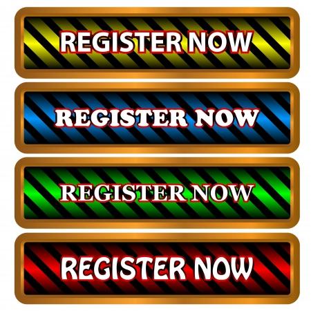 Big register now set in unique style Stock Vector - 16526984