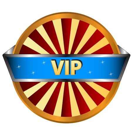 Unique vip symbol on a white background Stock Vector - 16798028
