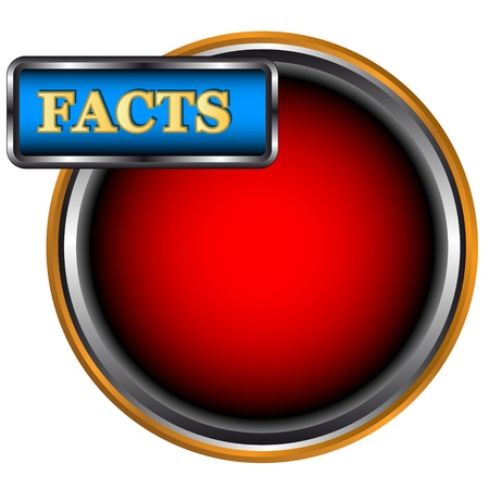 New facts icon on a white background  Vector