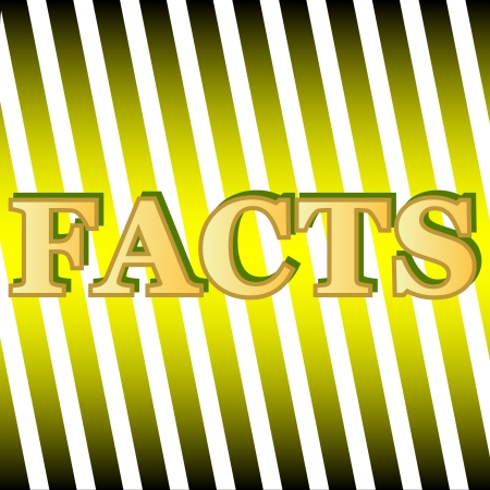 New facts icon on a unique background Stock Vector - 16900276