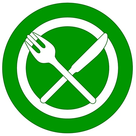 New restaurant icon with plug and knife Stock Vector - 16900295