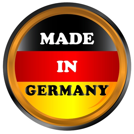 Made in germany icon on a white background Vector