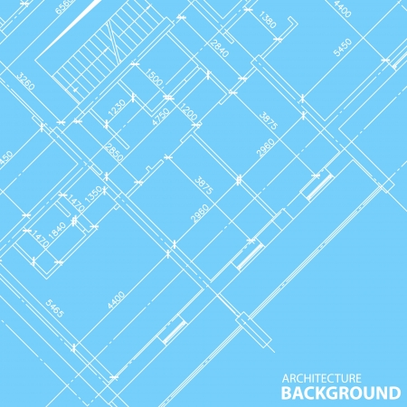 interesting: Interesting architectural background in unique style  Vector illustration