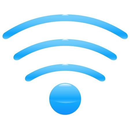 High resolution icon of wifi wireless spot