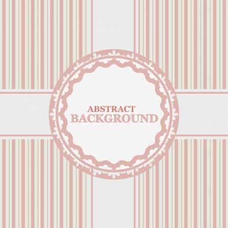 Vintage background in a unique style and color Vector