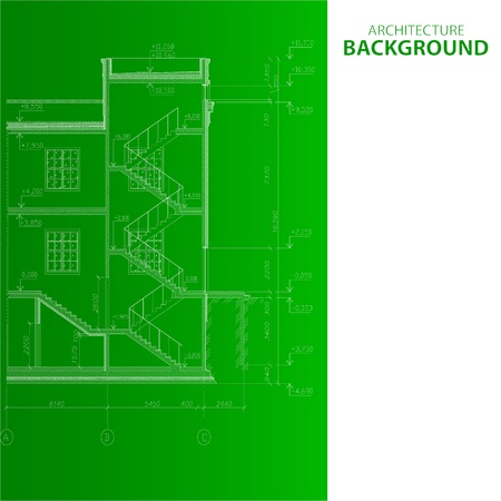 Best interesting architectural background in unique style. Vector illustration Stock Vector - 21634774