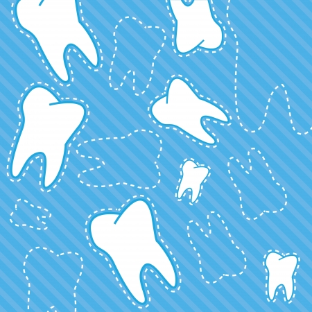 Best dental background in a unique style Vector