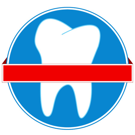New dental icon on a white background Stock Vector - 22780175