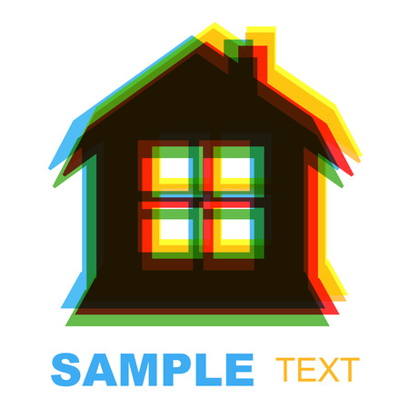 New house icon on a white background Vector