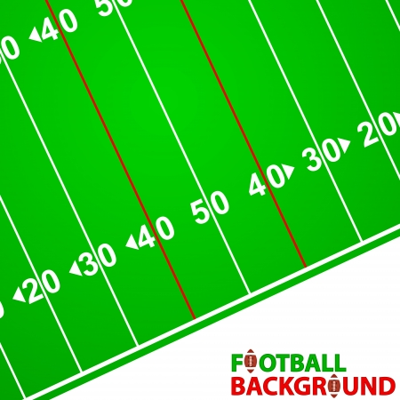 New Football Background with space for text Stock Vector - 23711550
