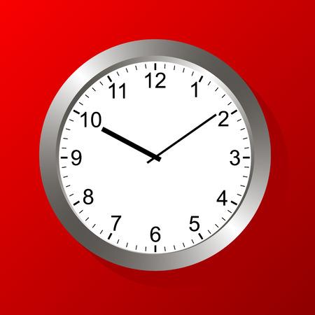 Clock  Stock Vector - 23865302