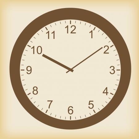 Clock icon in a unique style Stock Vector - 23867202