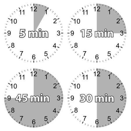 A unique set of hours Vector