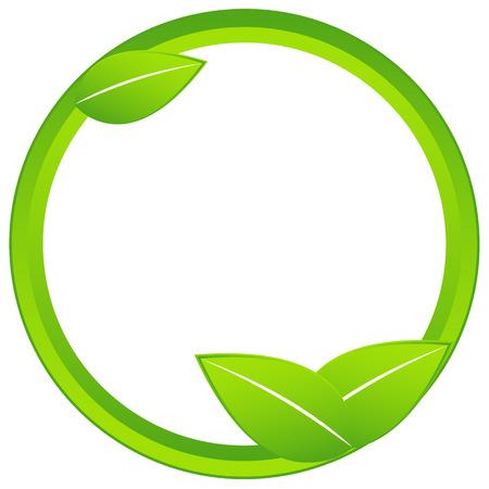 bio safety: Originally created ecology business icon on a white background Illustration