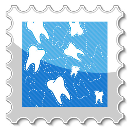 dental hygienist: Best dental stamp in a unique style