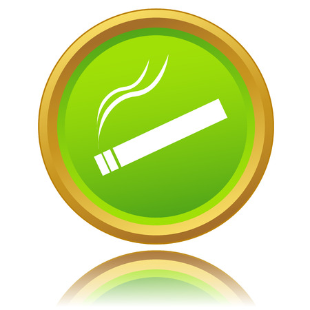 Smoking Area icon on a white background. Vector illustration Vector