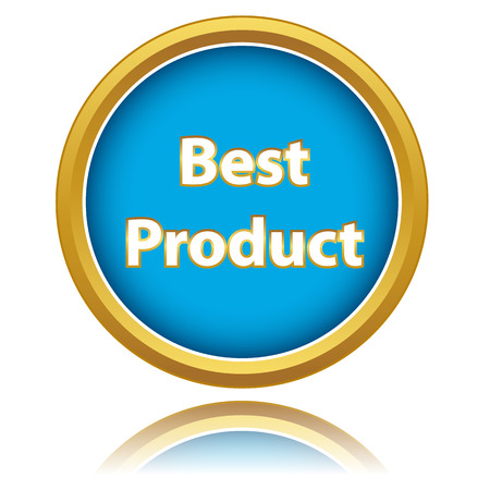 Best Product icon on a white background Vector
