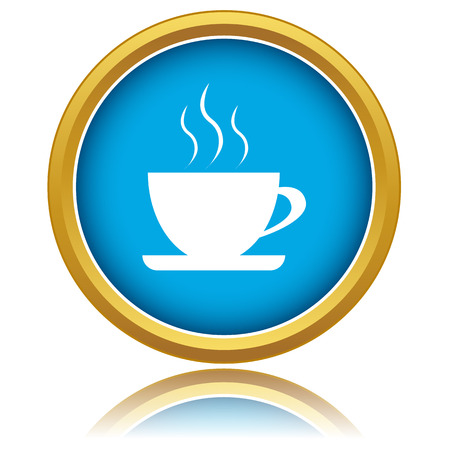 coffeepot: New vector illustration of isolated coffee icon Illustration