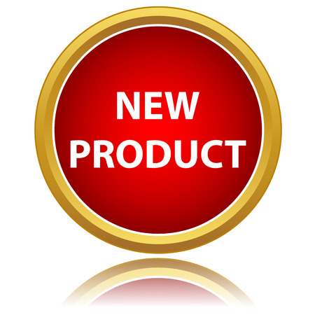 product icon: New product icon on a white background
