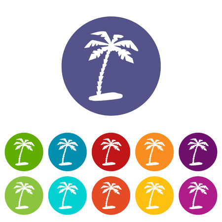 isles: Island web flat icon