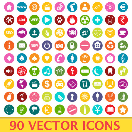 Big set vector Vector