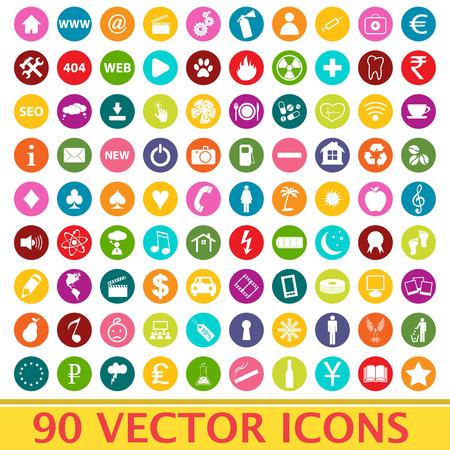 Big set vector Vector