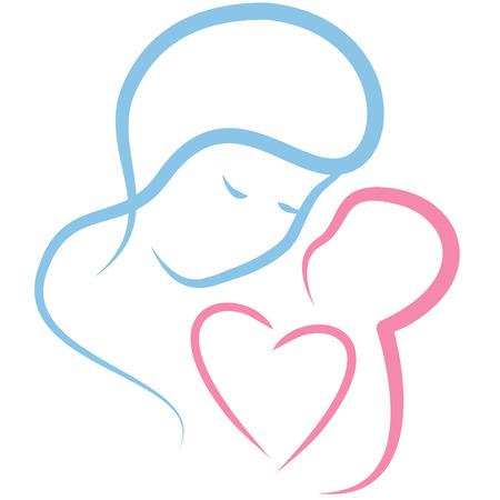 ragazza innamorata: Amore materno