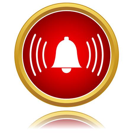 wake up call: Vector alarmclock icon