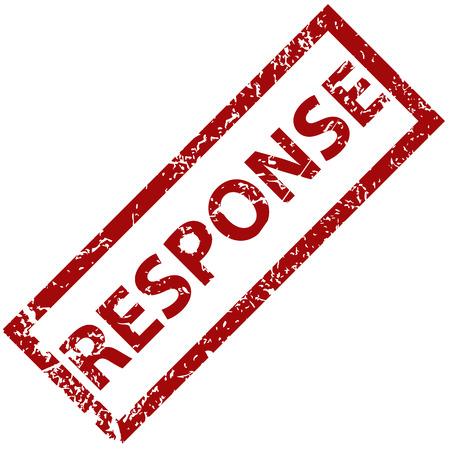 response: Response rubber stamp