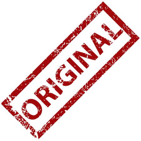 original: Original rubber stamp