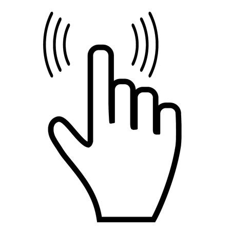 Click hand icon pointer