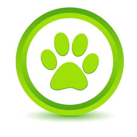 brute: Green paw icon