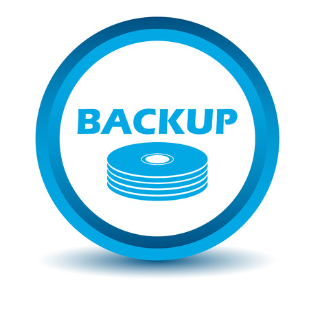 standby: Blue backup icon