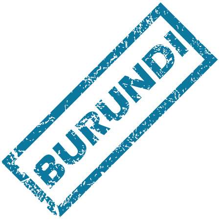 unclean: Burundi grunge rubber stamp on a white background. Vector illustration Illustration