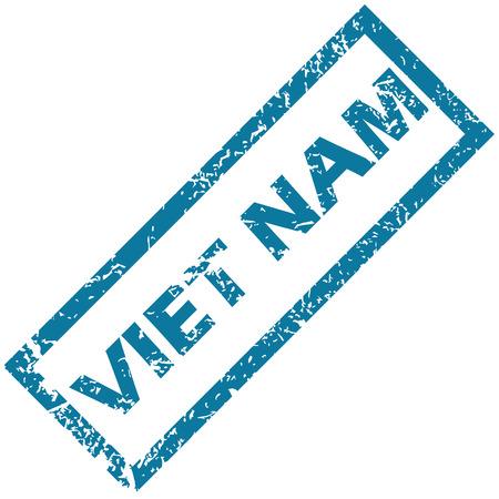Viet Nam grunge rubber stamp on a white background. Vector illustration